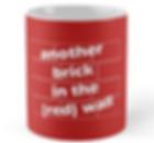 The Red Wall - Welsh football mug
