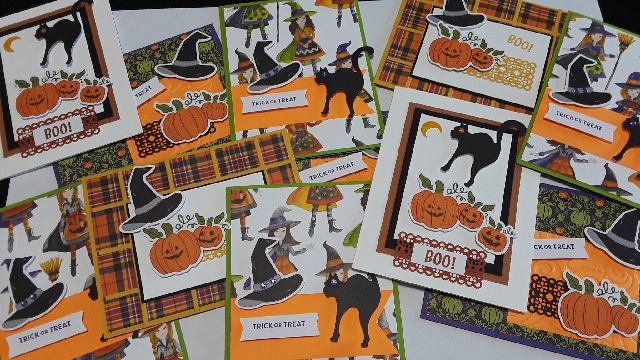 Hello Pumpkin Cards