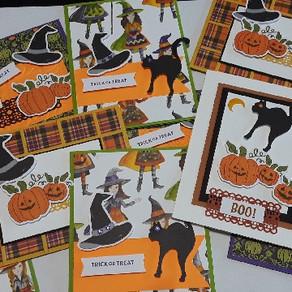MY HELLO PUMPKIN CARDS