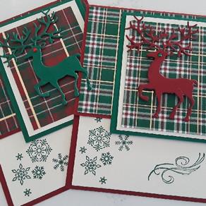 Reindeer Cards Tutorial