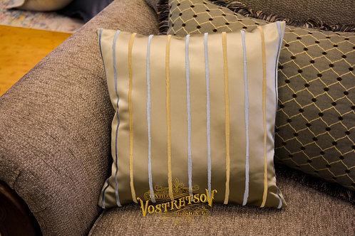 """""""Пассаж"""", декоративная подушка, цвет: Голубой"""