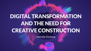 A view on digital transformation and the need for creative construction.