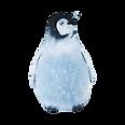 水彩画ペンギン2