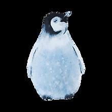 Watercolor Penguin 2