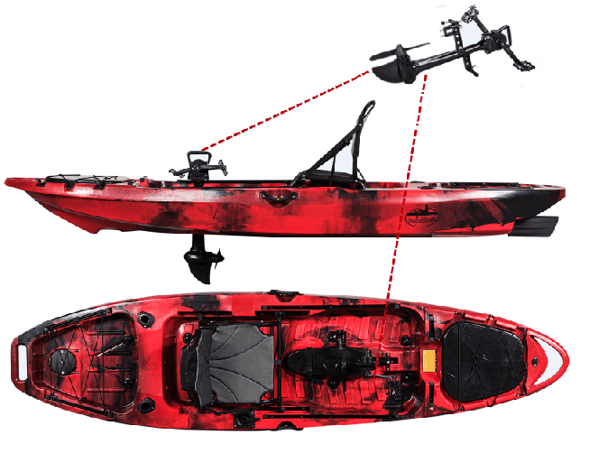 3m Pedal Drive Single Fishing Kayak