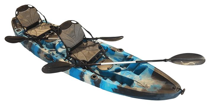 Oceanus Deluxe Tandem Kayak - Kuer Kayaks 8uv