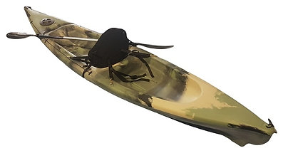 Invader Single Kayak - Made by Camero Kayaks in Adelaide - (20uv rating poly)