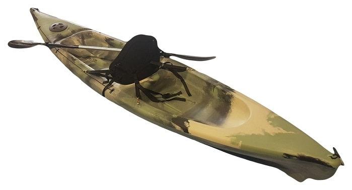 Invader Single Kayak - Made by Camero Kayaks in Adelaide - (20uv rating poly)