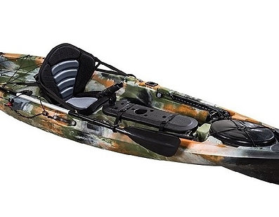 Pro Angler 10 Single Fishing Kayak - Kuer Kayaks 8uv