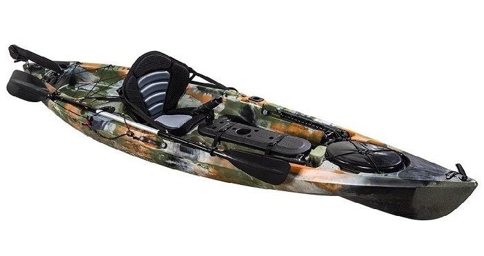 Pro Angler 10 Single Fishing Kayak - Kuer Kayaks 8uv