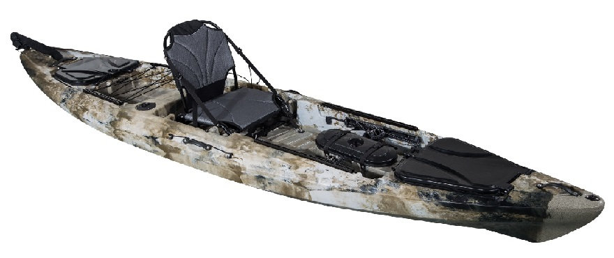 Pro Angler 13 Single Fishing Kayak - Kuer Kayaks 8uv