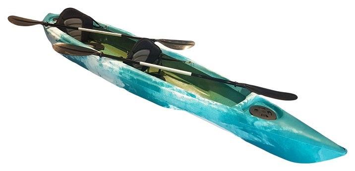 Ventura 2+1 Canoe - Made by Camero Kayaks in Adelaide - (20uv rating poly)