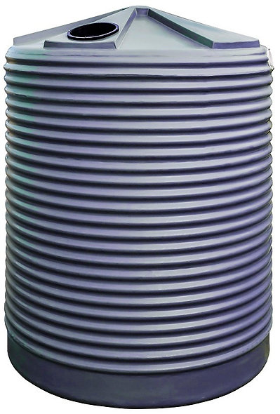 3300L Round Rainwater Tank