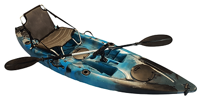 Congo Deluxe Single Fishing Kayak - Kuer Kayaks 8uv