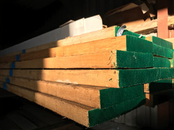 How our timber arrives