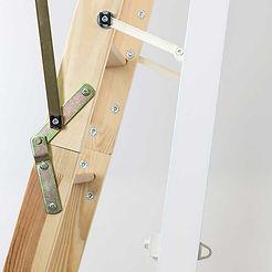 Dolle Clickfix Mini timber loft ladder