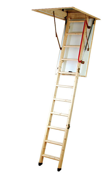 Timber Folding Loft Ladder