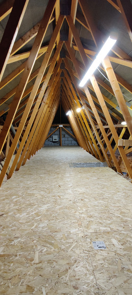 New Build Loft Boarding 3