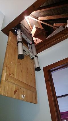 Younman Telescopic Loft Ladder