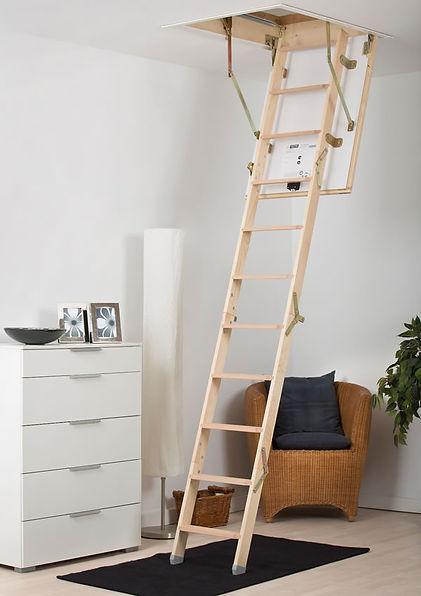 Top quality Mini timber loft ladder