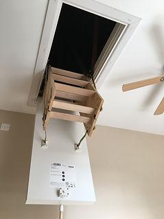 Youngman Clickfix 76 Timber Loft Ladder