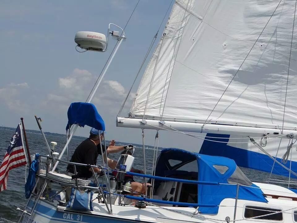 dans boat, steering.jpg