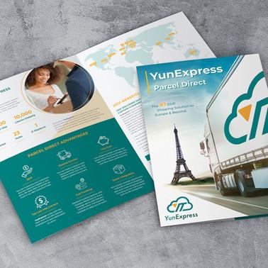 Geschäftsausstattung - Flyer & Mappe