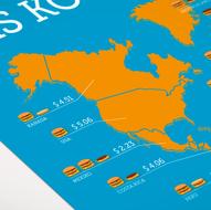 Infografik BigMac-Index