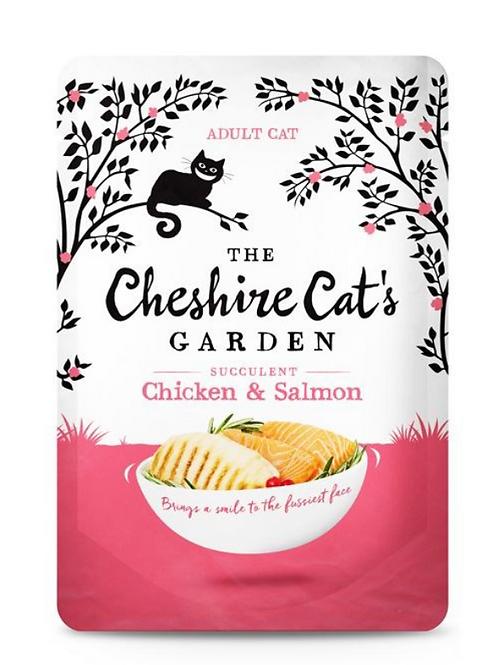 The Cheshire Cat's Garden Chicken & Salmon 85g