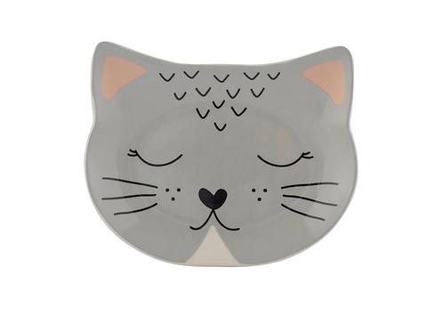 Mason Cash Grey Cat Face Plate