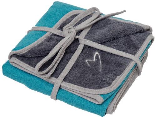 Camden Winter Teal Blanket