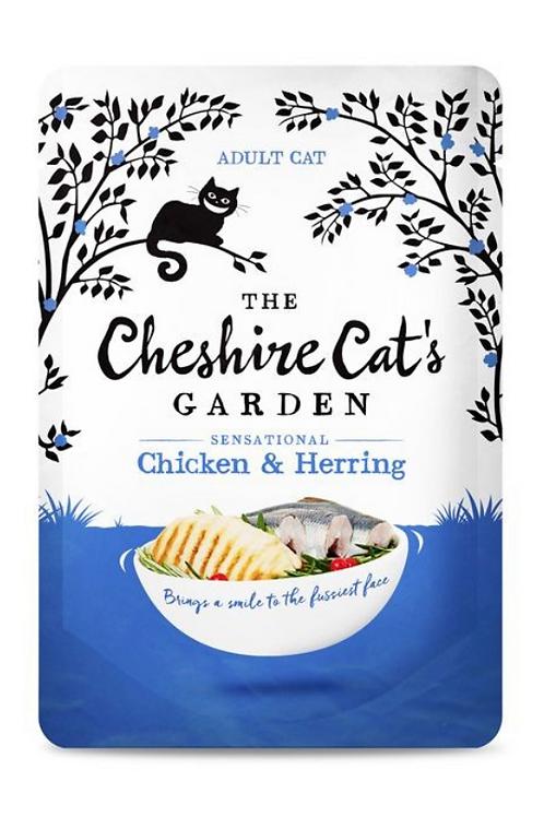 The Cheshire Cat's Garden Chicken & Herring 85g