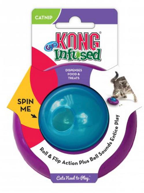 Kong Cat Gyro Catnip Infused Treat Dispenser