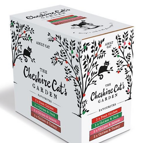 The Cheshire Cat's Garden Multipack 85g (8)