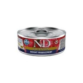N&D Natural & Delicious Cat Quinoa Weight Management 80g