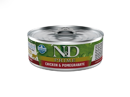 N&D Natural & Delicious Cat Chicken & Pomegranate 80g