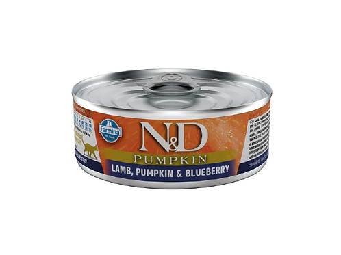 N&D Natural & Delicious Cat Lamb & Pumpkin & Blueberry 80g