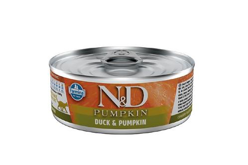 N&D Natural & Delicious Cat Duck & Pumpkin 80g