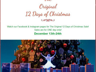 The Original 12 Days of Christmas Sale