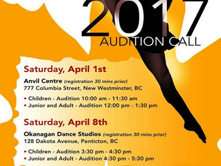 Team Canada West Presents Show Dance 2017 Audition Call