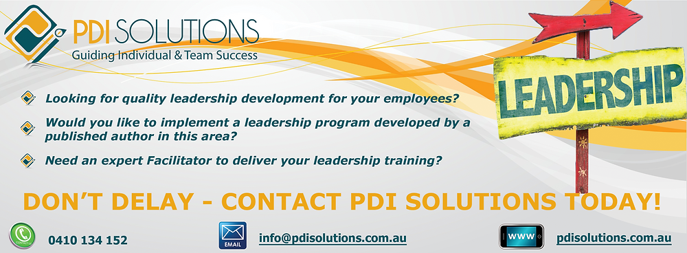 Contact PDI Solutions Today for Leadership Development