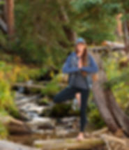 Yoga in Rocky Mountain National Park