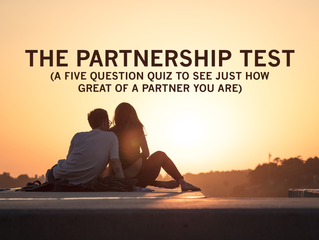 Consider Yourself A Great Partner? This 5-Question Quiz Should Prove It
