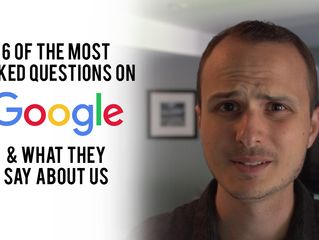 6 Of The Most Asked Questions On Google & What They Say About Us