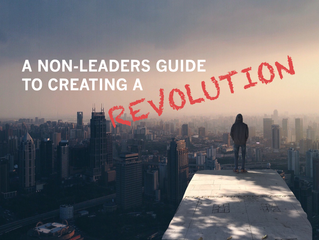 A Non-Leaders Guide to Creating a Revolution
