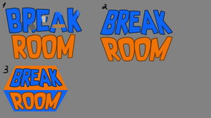 Break Room VR Logo Sketch