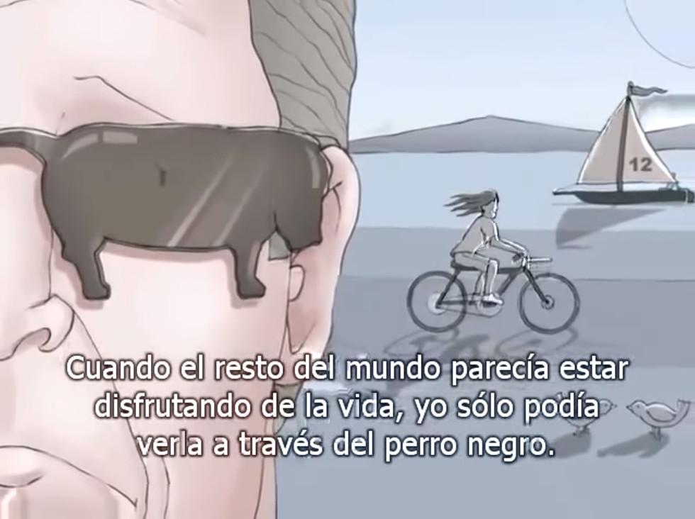 YO TENÍA UN PERRO NEGRO, LLAMADO DEPRESIÓN.