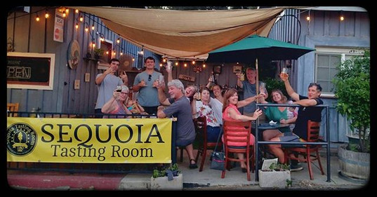 Fun times @sequoiatasting  Cheers.  Thes