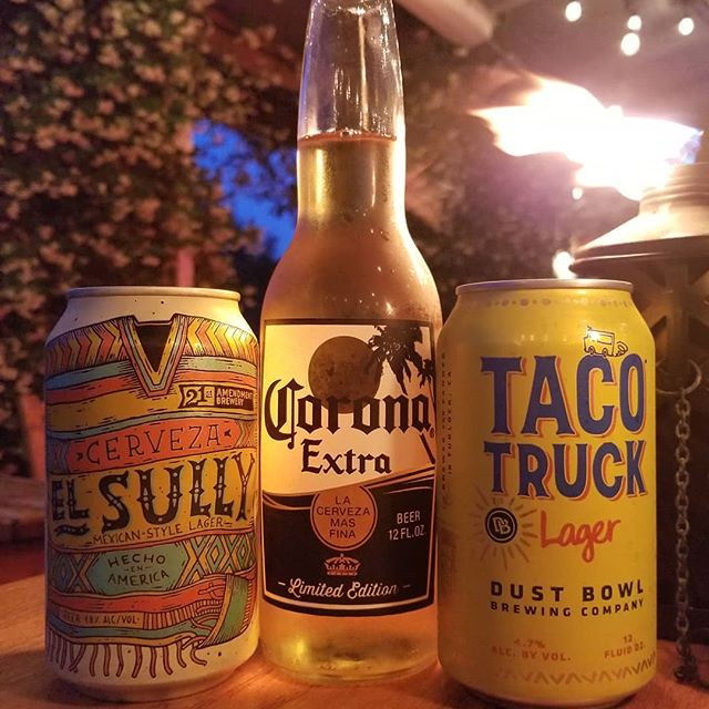 Three Mexican Style Lagers. Which is you
