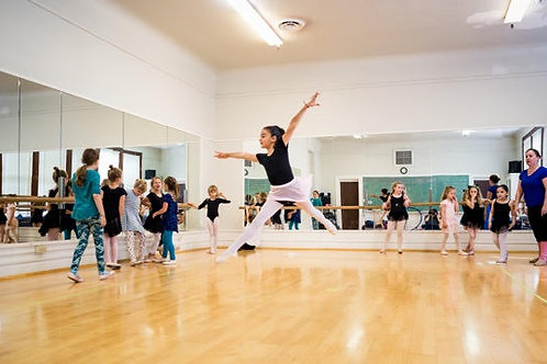 Intermediate Ballet Wednesdays 3:45 -5:00 PM